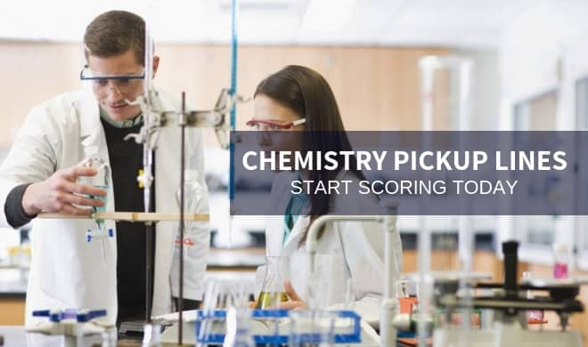 20 Chemistry Pickup Lines and How to Use Them