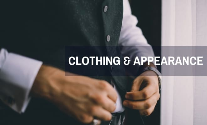 Clothing & appearance
