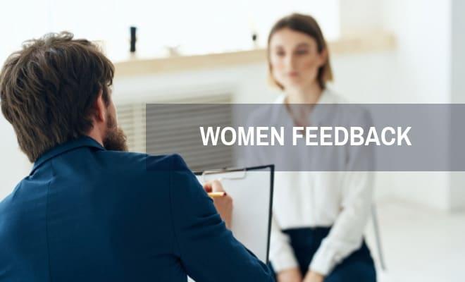 Women feedback
