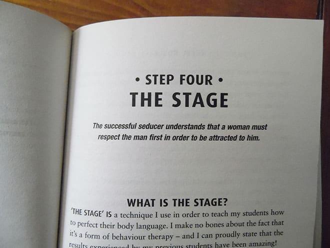 the art of seduction steps