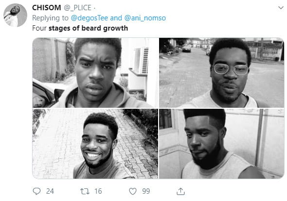 Four stages by Chisom