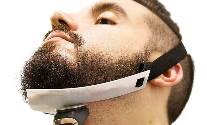 Flexible beard shaper