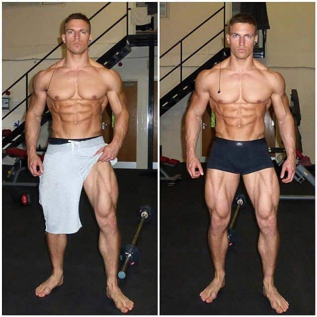 Physique of Mike Thurston