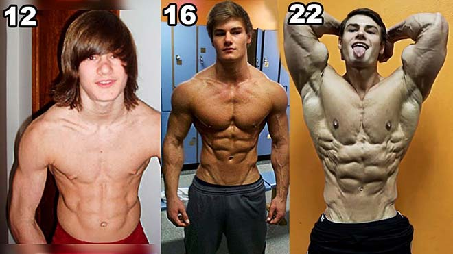 Jeff Seid before after